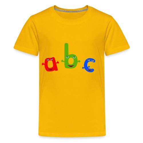 abc t shirt trans - Kids' Premium T-Shirt