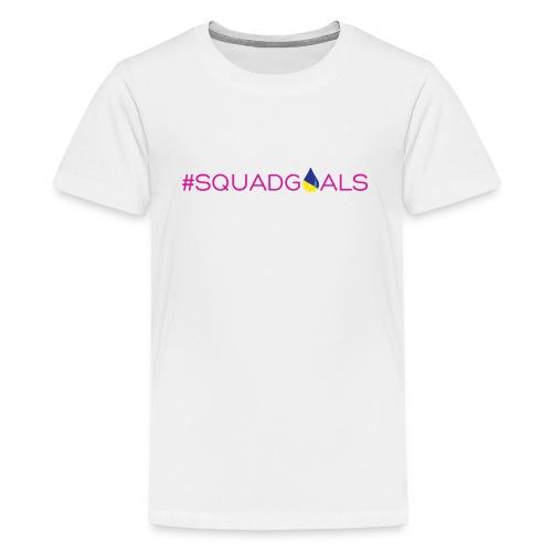 LDSquadGoalsSpreadShirt - Kids' Premium T-Shirt