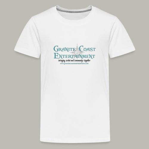Baseball full GCE logo shirt - Kids' Premium T-Shirt