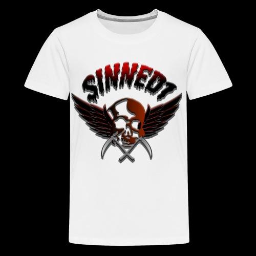 Sinned1 Dripping Text - Kids' Premium T-Shirt