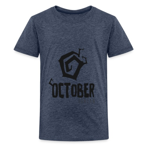 October Duncan2 01 png - Kids' Premium T-Shirt