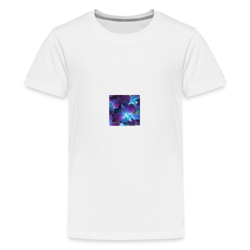Flornal orchid designs - Kids' Premium T-Shirt