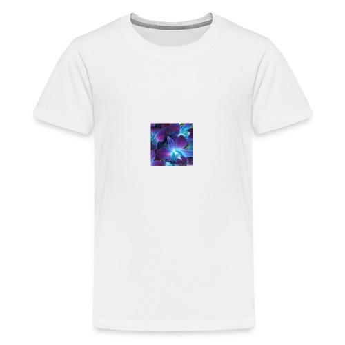 Flornal orchid designs - Kids' Premium T-Shirt