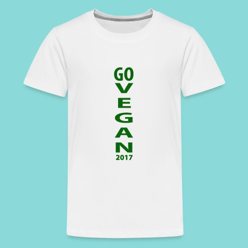 Go_Vegan_2017 - Kids' Premium T-Shirt