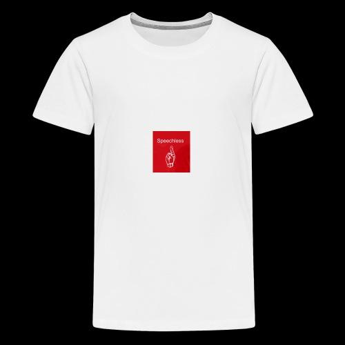 Speechless introduction - Kids' Premium T-Shirt