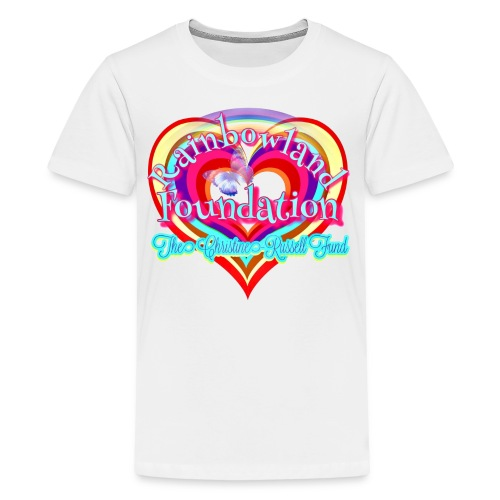 Rainbowland Foundation logo - Kids' Premium T-Shirt