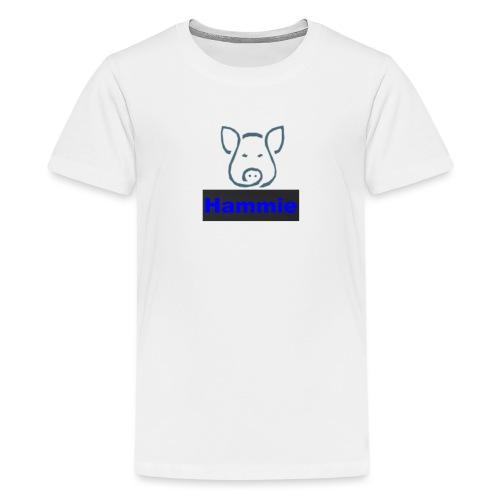Hammie Logo with Brand Name - Kids' Premium T-Shirt