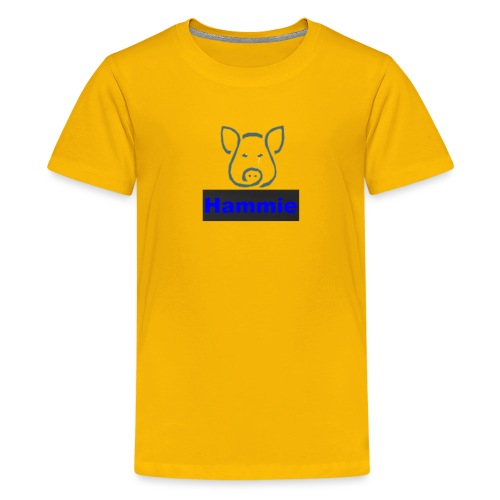 Hammie Logo with Brand Name - Kids' Premium T-Shirt