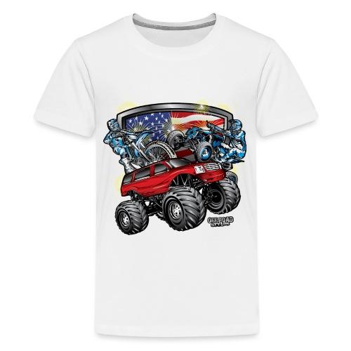 Off-Road 4th of July - Kids' Premium T-Shirt