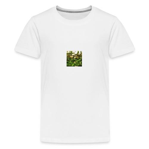 green aquarium - Kids' Premium T-Shirt
