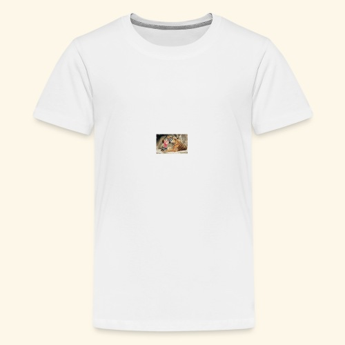 Friendship with a Tiger - Kids' Premium T-Shirt