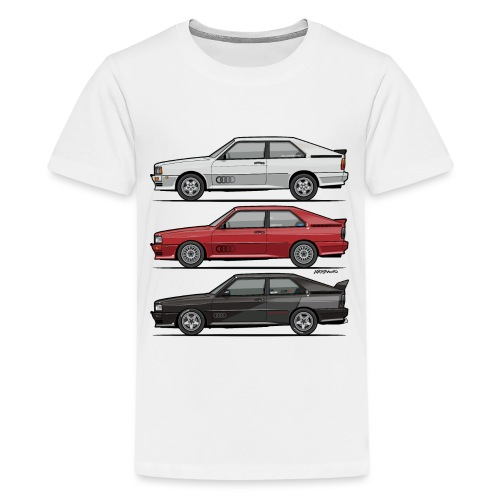Four rings b2 urqu4ttro t - Kids' Premium T-Shirt