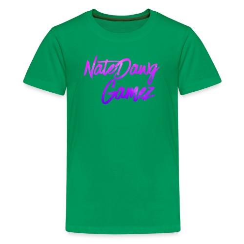 Galaxy Nate- - Kids' Premium T-Shirt