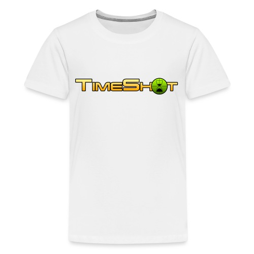 TimeShot Logo Text - Kids' Premium T-Shirt