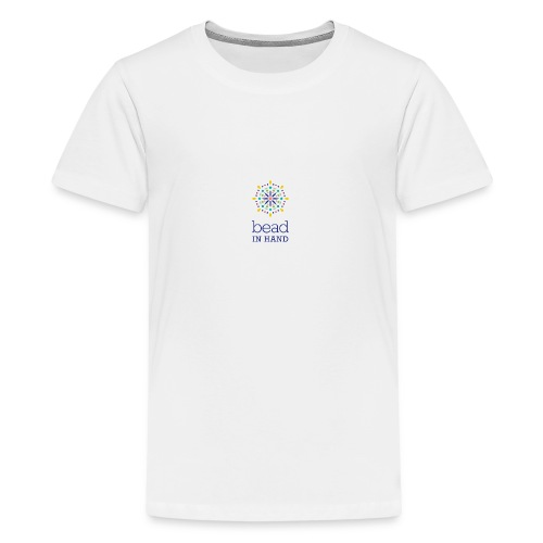 Bead In Hand Logo with Name - Kids' Premium T-Shirt