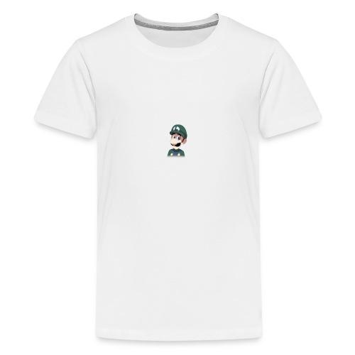 Luigi from (Mario)The Music Box By Team Ari - Kids' Premium T-Shirt
