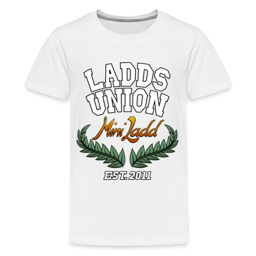 Mini Ladd College Shirt png - Kids' Premium T-Shirt