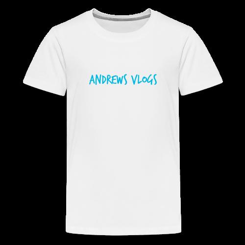Andrews Vlogs Logo - Kids' Premium T-Shirt