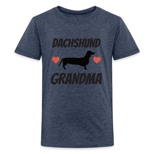 Dachshund Grandma - Kids' Premium T-Shirt