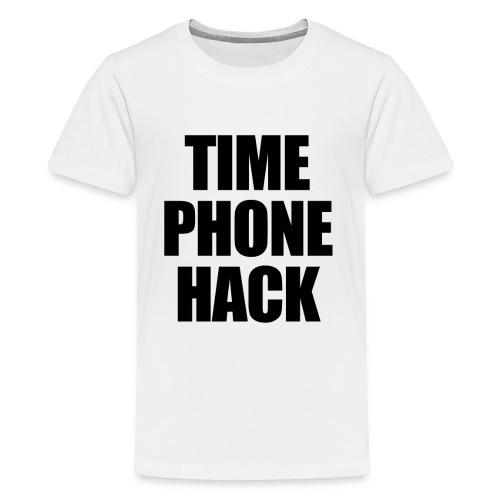 Time Phone Hack - Kids' Premium T-Shirt