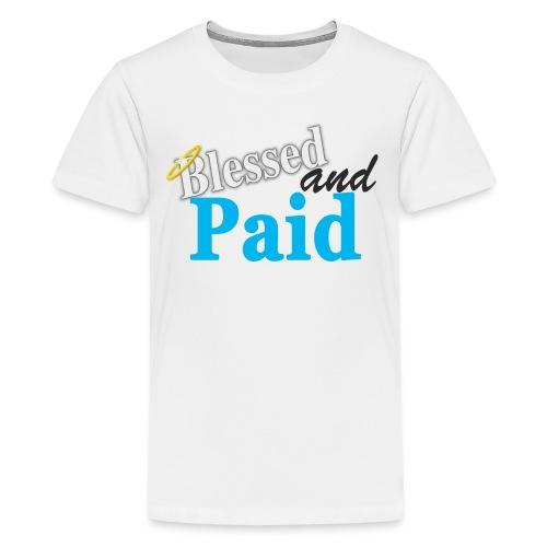 Baby Blue Angel - Kids' Premium T-Shirt