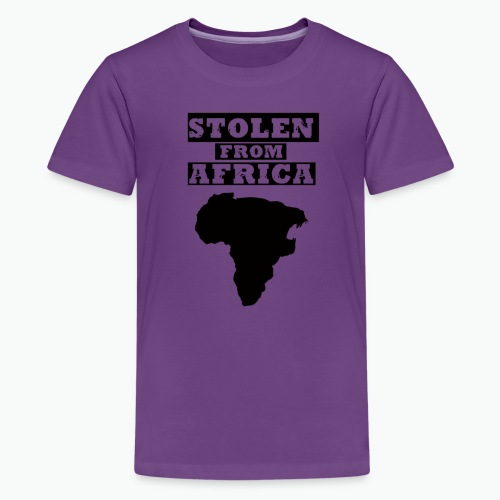 STOLEN FROM AFRICA LOGO - Kids' Premium T-Shirt