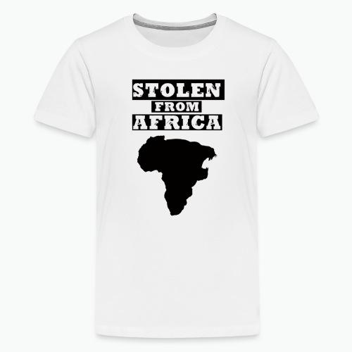STOLEN FROM AFRICA LOGO - Kids' Premium T-Shirt