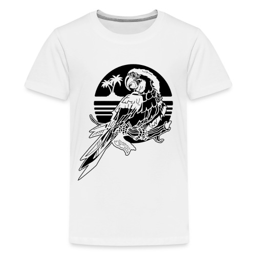 Tropical Parrot - Kids' Premium T-Shirt