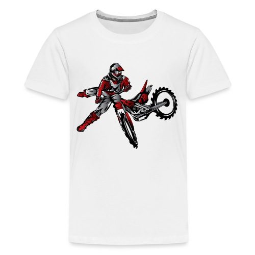 Freestyle Dirt Biker - Kids' Premium T-Shirt