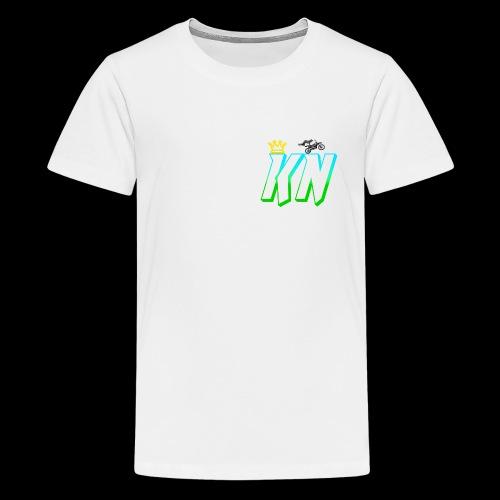 2018 keag and Nate Logo - Kids' Premium T-Shirt
