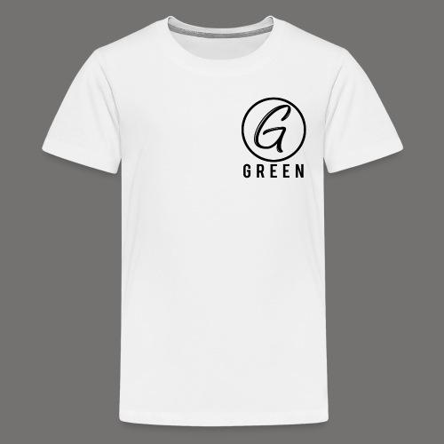Green Circle Text png - Kids' Premium T-Shirt