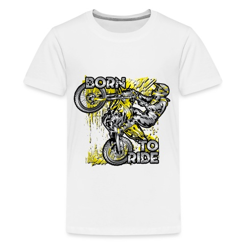 Born To Ride Motorcycles - Kids' Premium T-Shirt