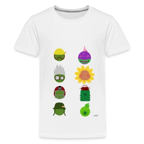 Simply PvZGW Characters - Kids' Premium T-Shirt