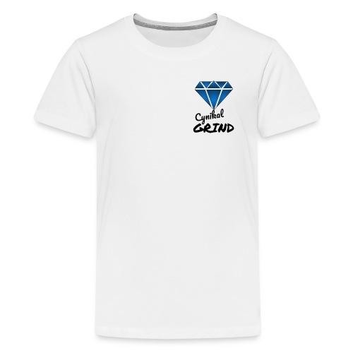 Cynikal Grind logo - Kids' Premium T-Shirt