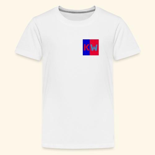 Kalani wipou logo shirt - Kids' Premium T-Shirt