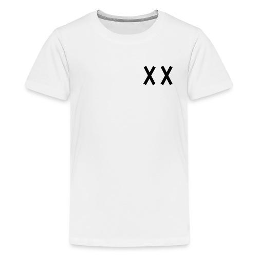MKI Black Logo with Grey/White - Kids' Premium T-Shirt