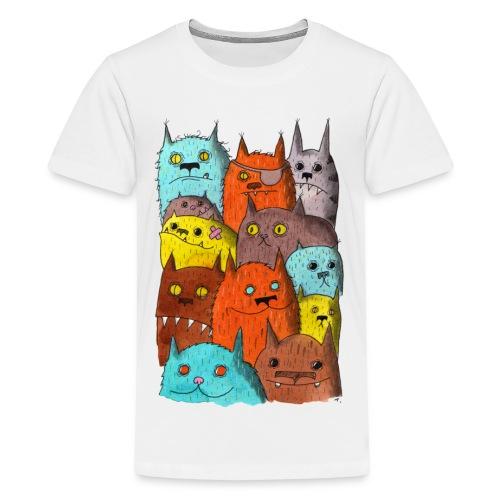 The Cats of Meow Tyson B - Kids' Premium T-Shirt