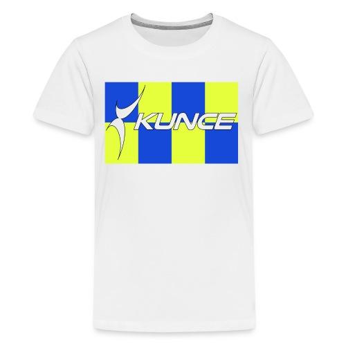 Kunce Clothing Original High Visibility Battenberg - Kids' Premium T-Shirt