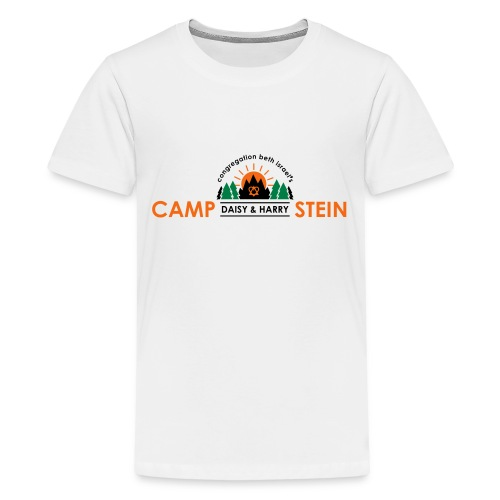 campstein horiz 4color - Kids' Premium T-Shirt