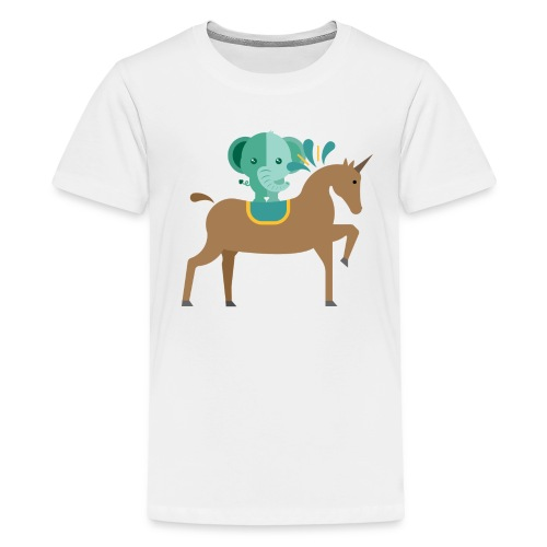 Unicorn and elephant - Kids' Premium T-Shirt