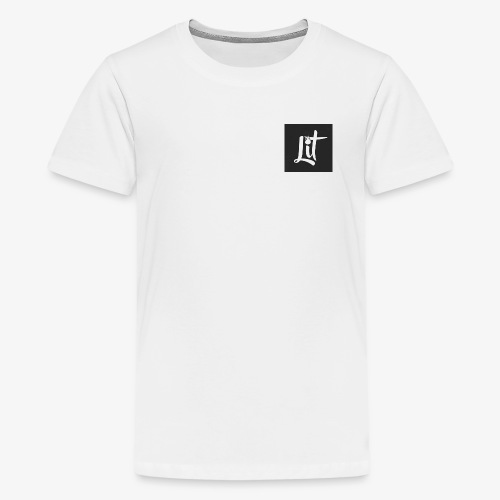 lit logo chest mens premium t shirt - Kids' Premium T-Shirt