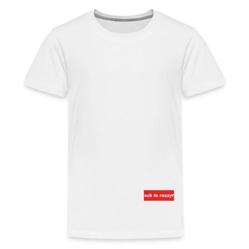 Sub To RazzyT - Kids' Premium T-Shirt