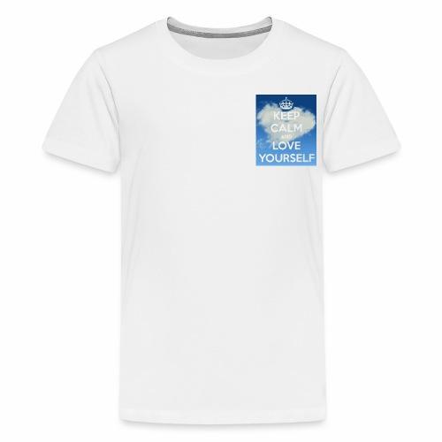 Keep calm and love yourself - Kids' Premium T-Shirt