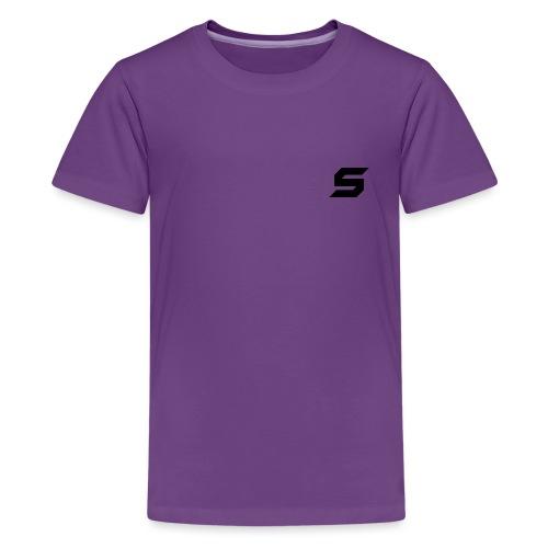 A s to rep my logo - Kids' Premium T-Shirt
