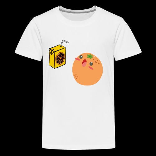 Oh orange you didn't - Kids' Premium T-Shirt