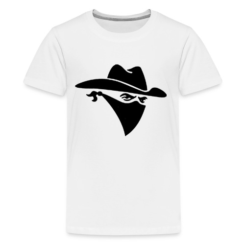Bandit PNG Clipart v1 - Kids' Premium T-Shirt