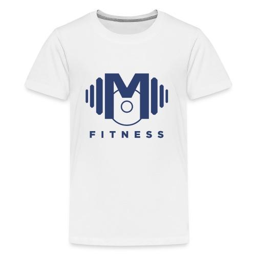Mo Fitness - Blue - Kids' Premium T-Shirt