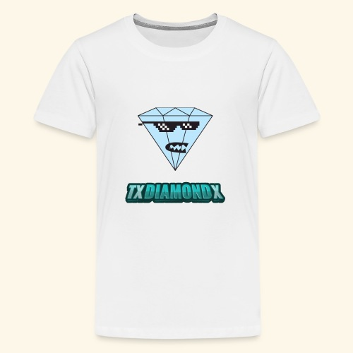 Txdiamondx Diamond Guy Logo - Kids' Premium T-Shirt