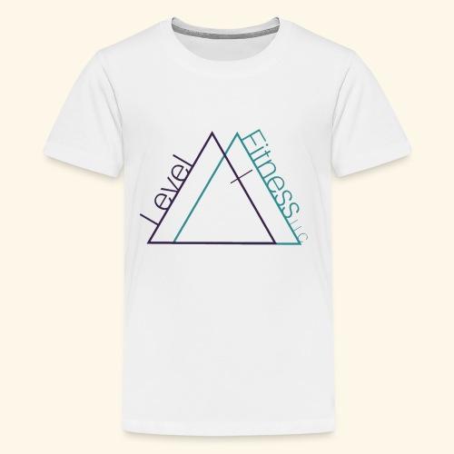 LevelFitnessLogo - Kids' Premium T-Shirt