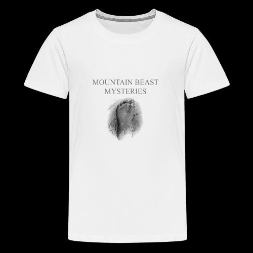 Mountain Beast Mysteries Official Bigfoot Logo - Kids' Premium T-Shirt
